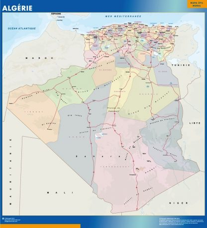 Biggest Algeria map