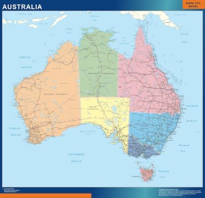 Biggest Australia map