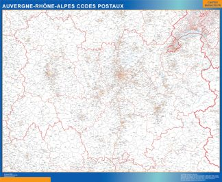 Biggest Auvergne-Rhone-Alpes zip codes