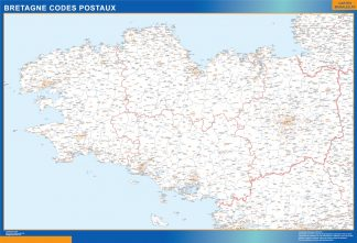 Biggest Bretagne zip codes