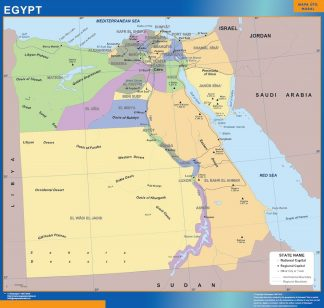 Biggest Egypt map