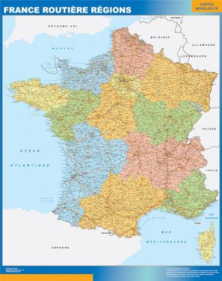 Biggest France map