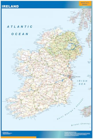 Biggest Ireland map