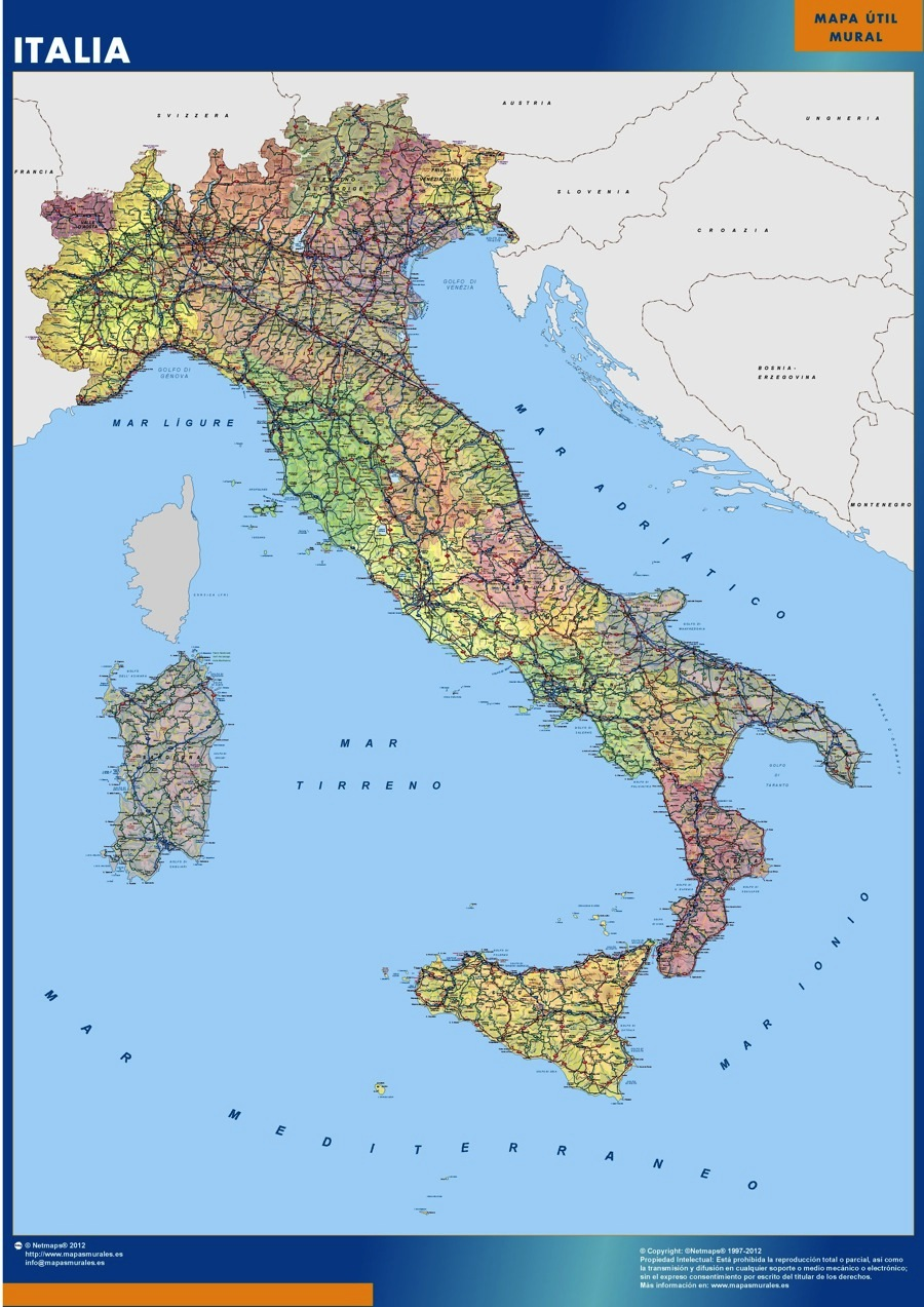 Cartina Italia Google Maps.Map Of Italy United Airlines And Travelling
