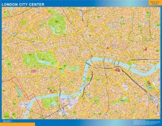 London City Downtown Map Downtown Maps Of Cities In Europe Wall Maps Of The World Countries For Australia