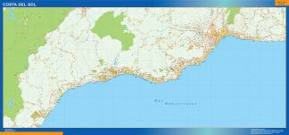 Biggest Map of Costa Sol