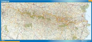Biggest Map of Pirineos