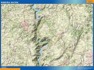 Biggest Map of Ribeira Sacra