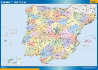 Biggest Map of Spain basic