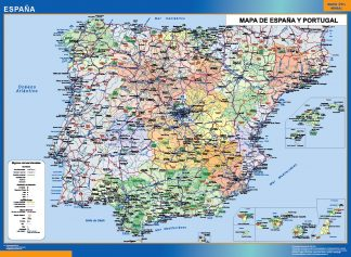 Biggest Map of Spain simple