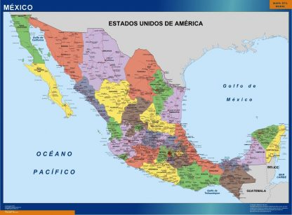 Biggest Mexico map
