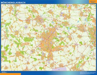 Biggest Monchengladbach map in Germany