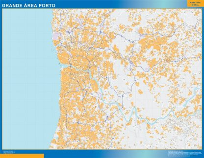 Biggest Porto Grande Area map