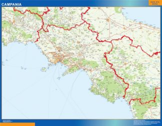 Biggest Region of Campania in Italy