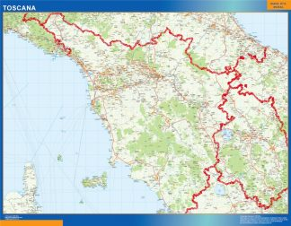 Biggest Region of Toscana in Italy