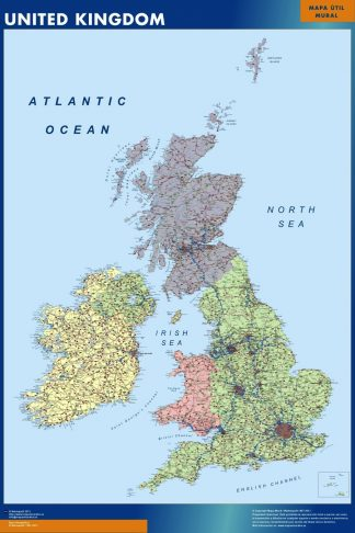 Biggest United Kingdom map