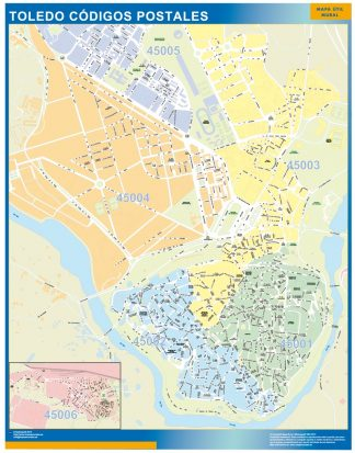 Biggest Zip codes Toledo map